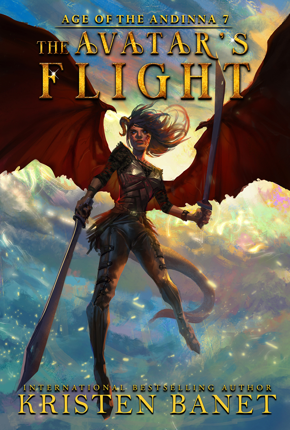 The Avatar's Flight, Age of the Andinna Book 7 by Kristen Banet